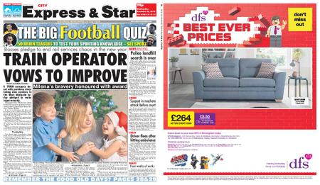 Express and Star City Edition – December 26, 2018