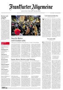 Frankfurter Allgemeine Zeitung - 7 November 2020