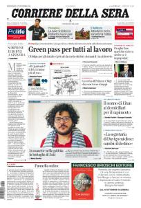 Corriere della Sera - 15 Settembre 2021