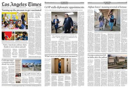 Los Angeles Times – August 12, 2021