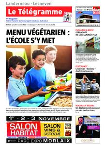 Le Télégramme Landerneau - Lesneven – 02 novembre 2019