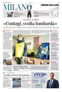 Corriere della Sera Milano – 01 aprile 2020