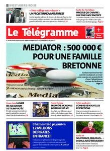 Le Télégramme Brest Abers Iroise – 14 janvier 2021
