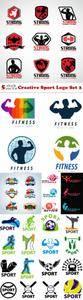 Vectors - Creative Sport Logo Set 2