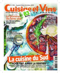 Cuisine et Vins de France – octobre 2019