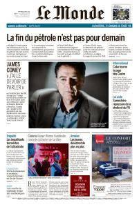 Le Monde du Mercredi 18 Avril 2018