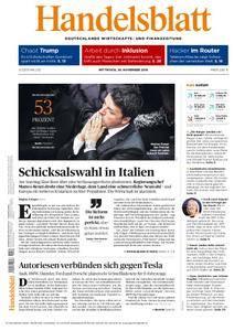 Handelsblatt - 30. November 2016
