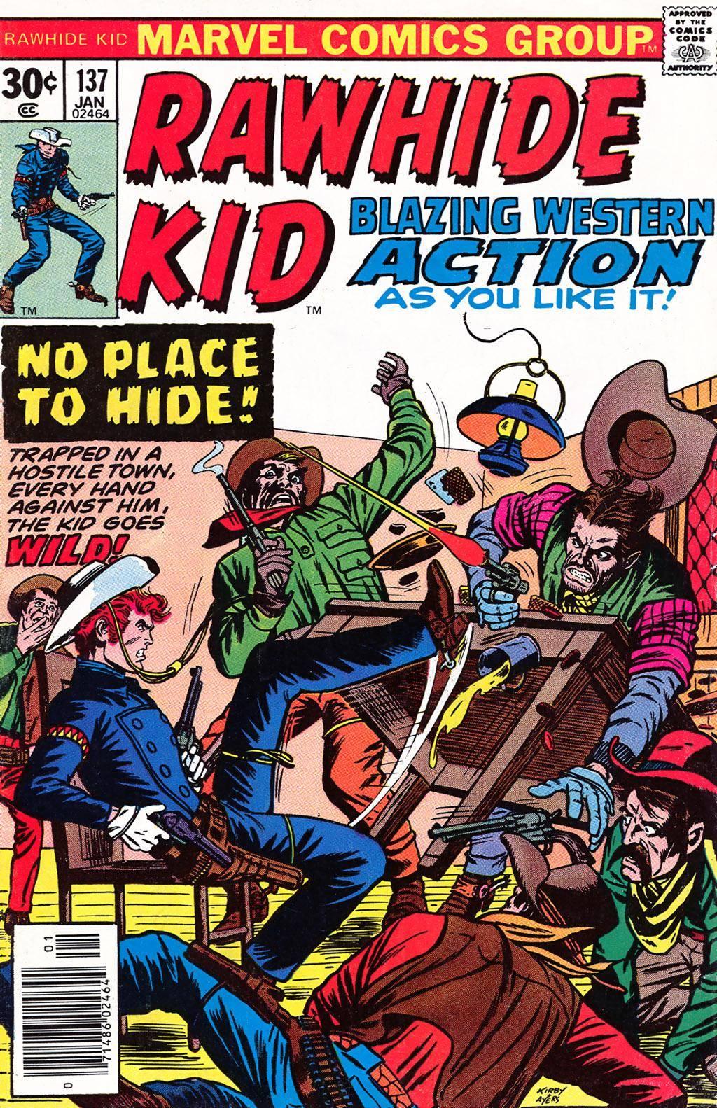 Rawhide Kid v1 137 1977 Brigus