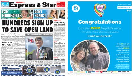 Express and Star Sandwell Edition – August 14, 2019