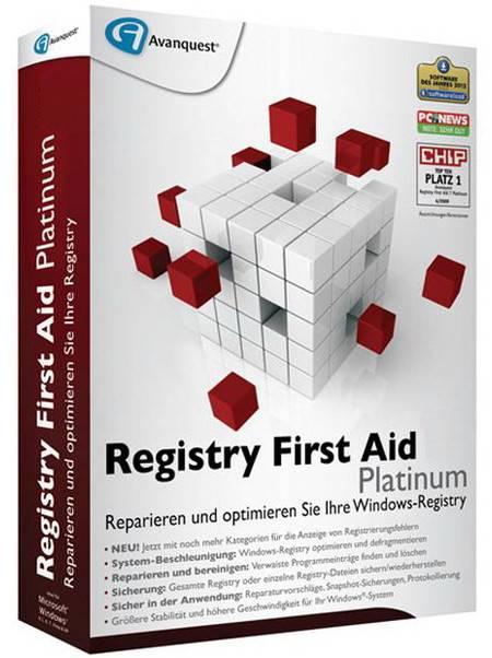 Registry First Aid Platinum 11.3.0 Build 2581 Multilingual