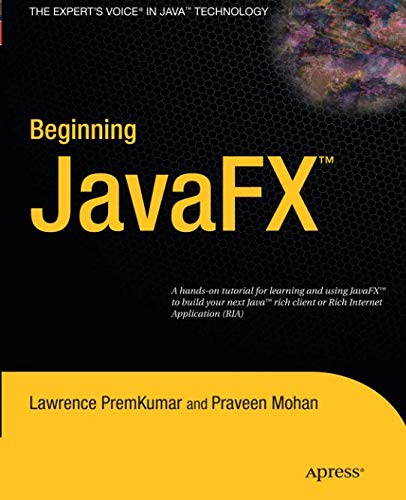 Beginning JavaFX  [Repost]