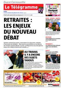Le Télégramme Ouest Cornouaille – 05 septembre 2019