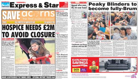 Express and Star Sandwell Edition – July 20, 2019