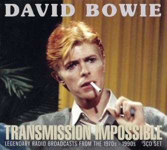 David Bowie - Transmission Impossible: Legendary Radio Broadcasts From The 1970s - 1990s (2018) {3CD Box Set}