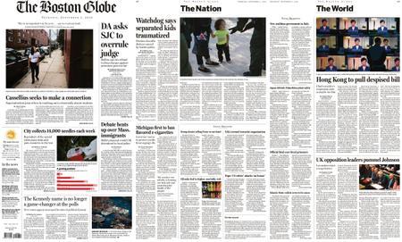 The Boston Globe – September 05, 2019