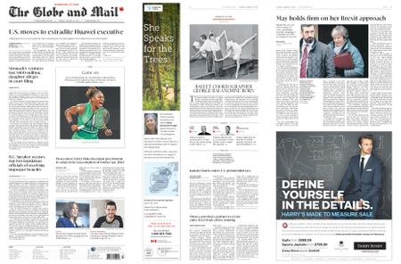The Globe and Mail – January 22, 2019