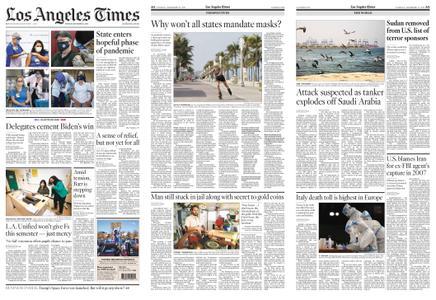 Los Angeles Times – December 15, 2020