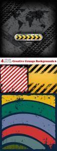 Vectors - Creative Grunge Backgrounds 6