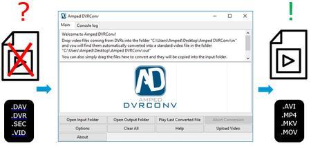Amped DVRConv 2019 Build 13785