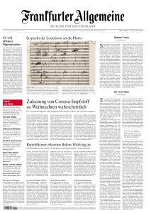 Frankfurter Allgemeine Zeitung - 16 Dezember 2020
