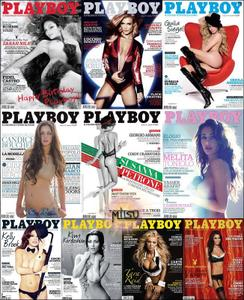 Playboy Italy - Full Year 2010 Issues Collection