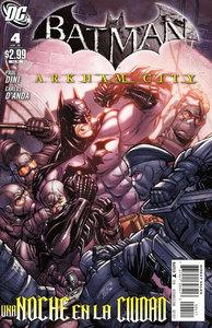 Batman Arkham City #4 - Spanish (2011)