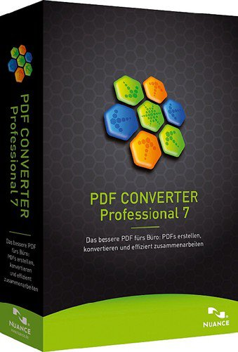 Nuance ScanSoft PDF Converter Professional 7.1 Multilingual (x86/x64)