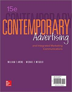 Contemporary Advertising, 15th Edition (repost)