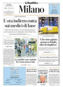 la Repubblica Milano - 11 Giugno 2020