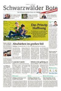 Schwarzwälder Bote Hechingen - 31. März 2018