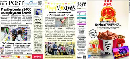 The Guam Daily Post – August 10, 2020