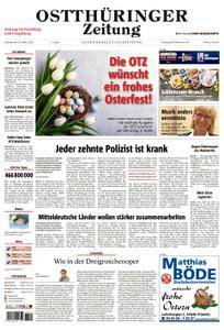 Ostthüringer Zeitung Eisenberg - 31. März 2018