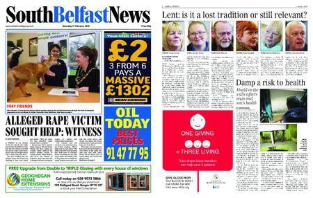 South Belfast News – February 15, 2018