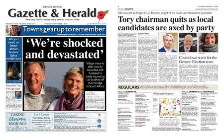 Gazette & Herald – November 07, 2019