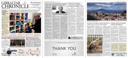 Gibraltar Chronicle – 29 April 2020