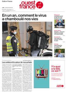 Ouest-France Édition France – 22 janvier 2021