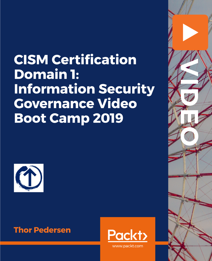 governance cism certification domain boot camp security avaxhome