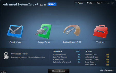 Advanced SystemCare Pro 4.1.0.235 Final Multilanguage