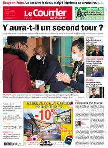 Le Courrier de l'Ouest Cholet – 16 mars 2020