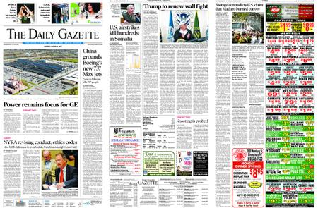 The Daily Gazette – March 11, 2019
