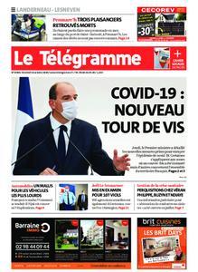 Le Télégramme Landerneau - Lesneven – 16 octobre 2020