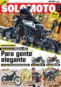 Solo Moto Sport & Young - abril 2018