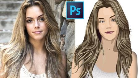 learn making vector face art from beginner to pro