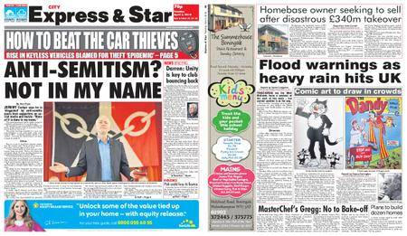 Express and Star City Edition – April 03, 2018