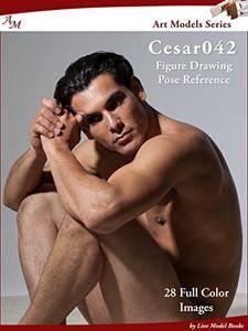 Art Models Cesar042: Figure Drawing Pose Reference (Art Models Poses)