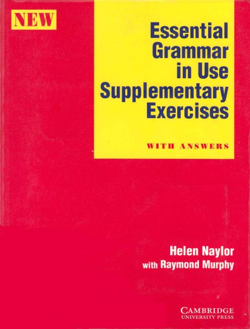 Essential Grammar in Use Supplementary Exercises With key (repost)