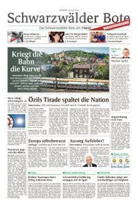 Schwarzwälder Bote St. Georgen, Triberg, Furtwangen - 24. Juli 2018