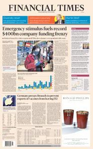 Financial Times Europe - January 27, 2021