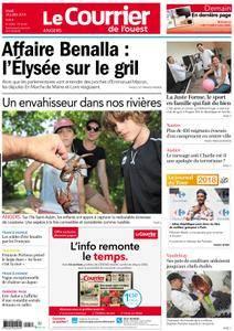 Le Courrier de l'Ouest Angers - 24 juillet 2018