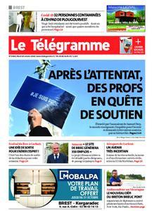 Le Télégramme Brest – 20 octobre 2020
